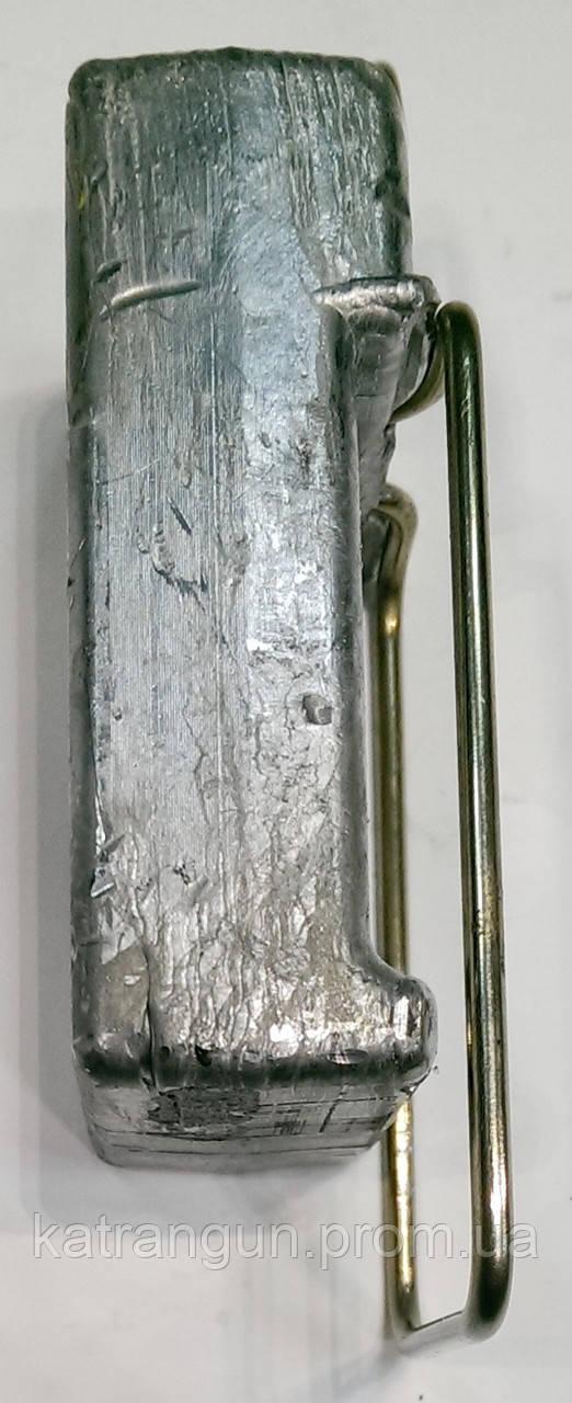 Быстросъёмный груз для буя 1 кг; прямоугольный - Магазин подводного снаряжения KatranGun — подводная охота, дайвинг, плавание, бассейн, обучение ПО в Киеве