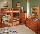 """Двухъярусная кровать """"Твайс"""" 1 Сорт с ящиками, фото 3"""