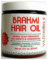 Брахми Масло 237мл Brahmi Hair Oil Vadik Herbs Для укрепления и роста волос.
