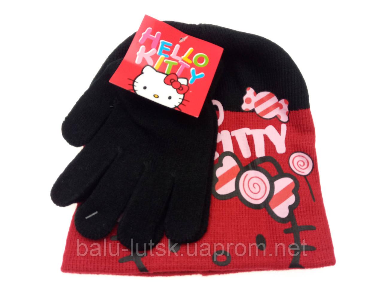 Детский набор шапка+перчатки - Интернет-магазин