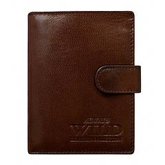 Мужской кошелек бренд ALWAYS WILD натуральная кожа