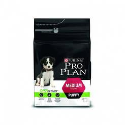 ProPlan Puppy Medium с курицей и рисом для щенков средних пород 3кг