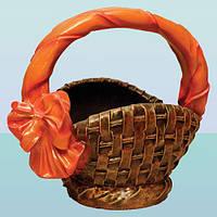 Подставка для цветов под вазон, цветочница Корзина (Ср)