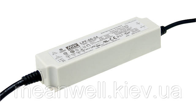 LPF-60-48 AC/DC LED-драйвер MeanWell 60 Вт, 48В, 1.25А