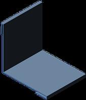 Уголок внутренний 100х100, фото 1