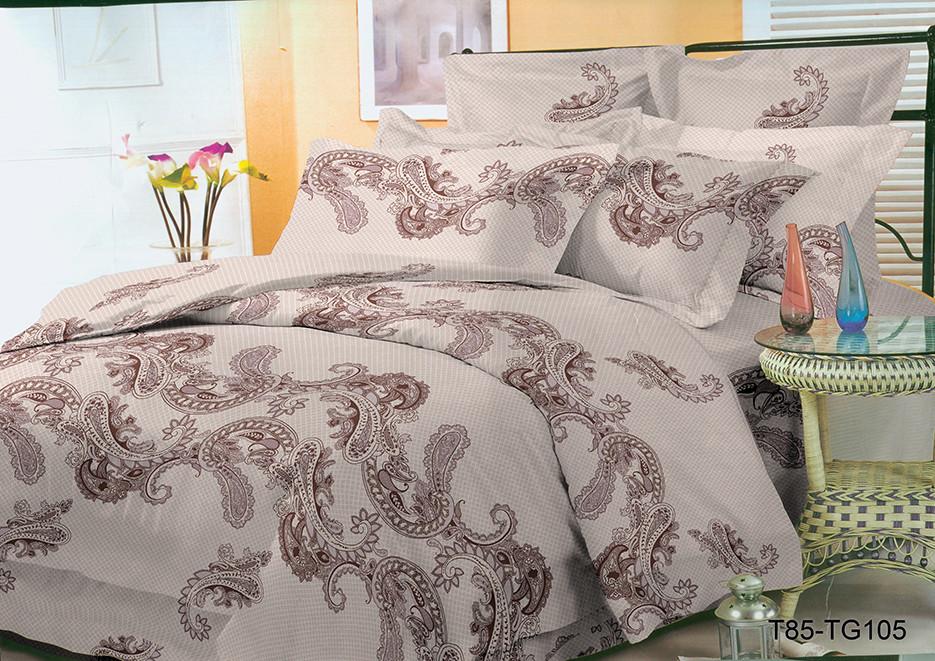 Полуторный комплект постельного 150х220 из полиэстера Элегия