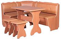Кухонный уголок Президент со столом и двумя табуретами. Честная цена!