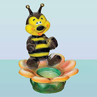 Подставка для цветов под вазон, цветочница Пчелка