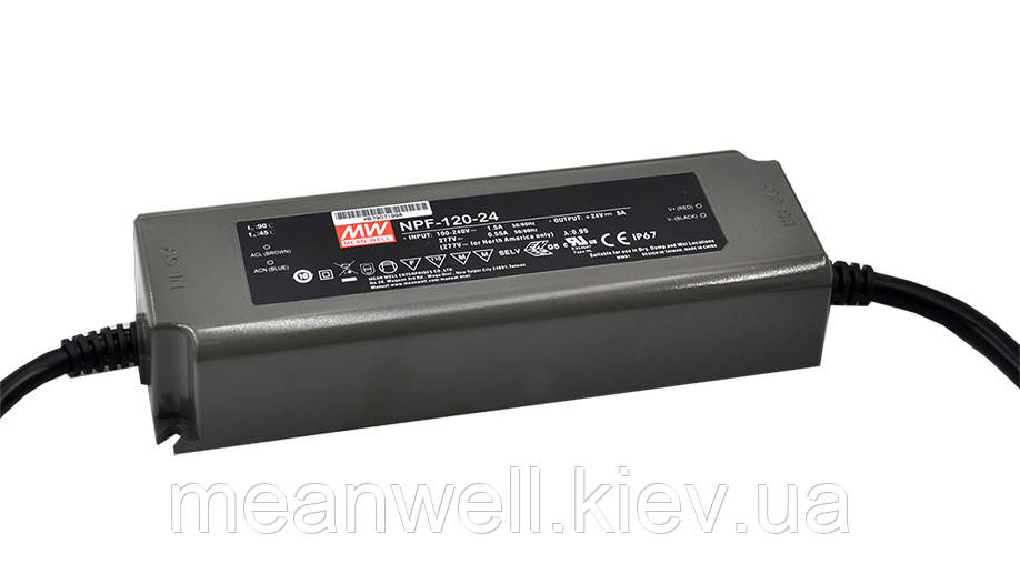 NPF-120-54 AC/DC LED-драйвер MeanWell  124.2Вт, 54В, 2.3А