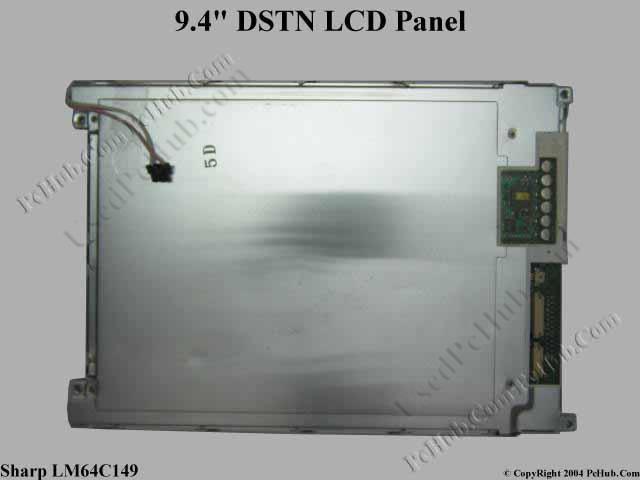 Матрица 9.4 Vga 640x480, Sharp LM64C149, Dstn, 1-ccfl, нд, матовая.