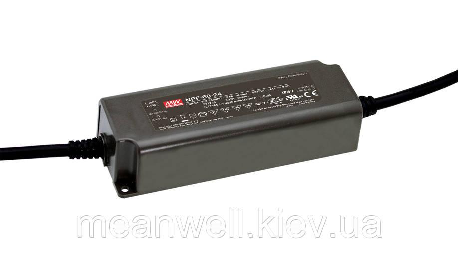 NPF-60-54 AC/DC LED-драйвер MeanWell  60.48Вт, 54В, 1.12А