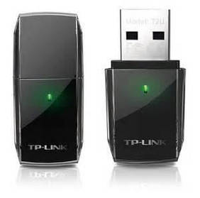 WiFi-адаптер TP-Link Archer T2U 802.11ac, 2.4/5 ГГц, AC600, USB 2.0