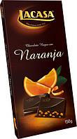 Шоколад черный Lacasa Negro Naranja апельсин