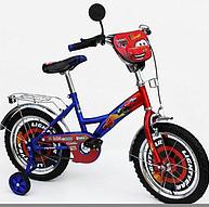 Детский велосипед для мальчика 18 дюймов от 5 лет Тачки