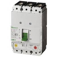 Автоматический выключатель LZMC1-A160-I с термомагнитным расцепителем, Iн = 160 Ампер, 380В, 3 полюса, 36 кА, серии LZM, Moeller an Eaton Brand