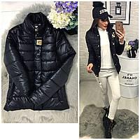 Куртка, модель 211/2, цвет-черная, 42 размер