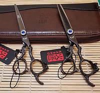 """Профессиональный набор ножниц для стрижки KASHO 6,0"""""""