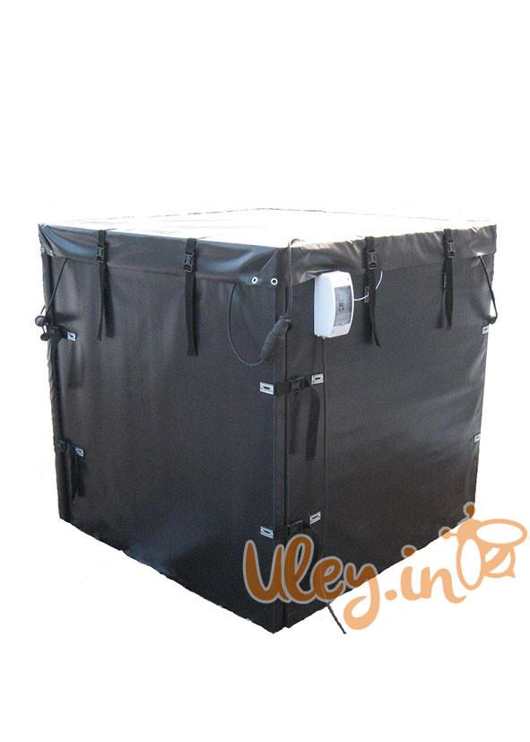 Термокамера для роспуска меда на 18 бидонов 1000 кг или 4 бочки по 290 кг.