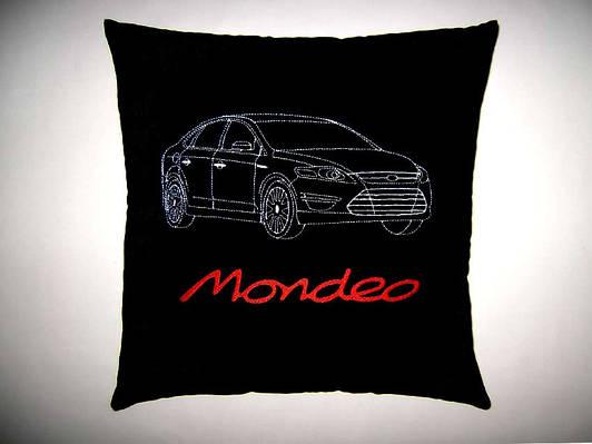 Сувенирная автомобильная подушка Ford Mondeo