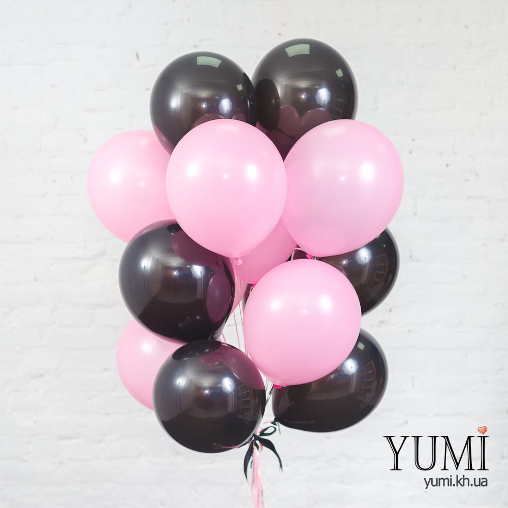 Связка 15 шаров на подарок для девушки