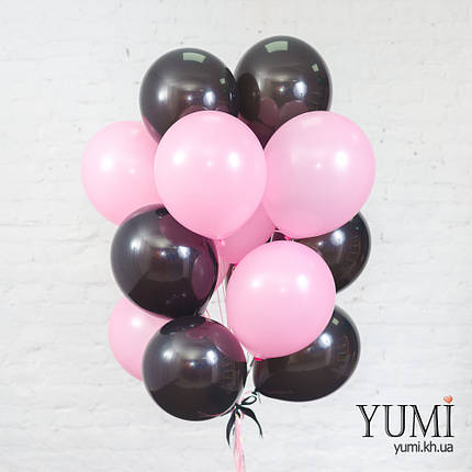 Связка 15 шаров на подарок для девушки, фото 2