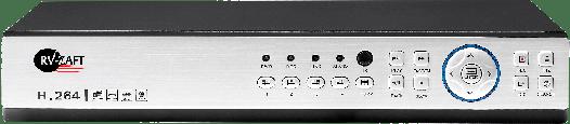 Видеорегистратор HVR с 192 зонами обнаружения, 4-канальный RV-X975-204HG-84E