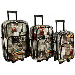 Дорожный чемодан сумка 773 набор 3 штуки City