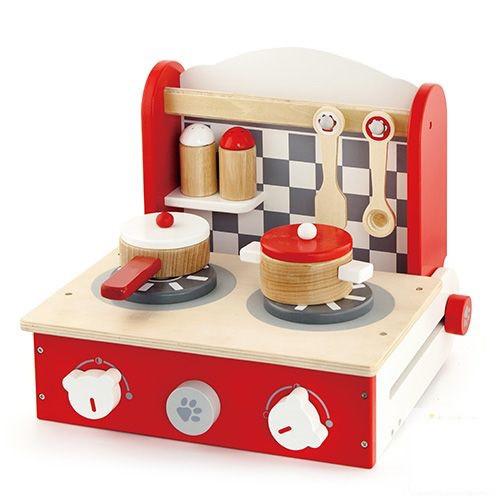 Игровой набор Мини-кухня с посудкой складная Viga toys (50232)