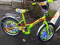 Детский двухколесный велосипед мадагаскар 18 дюймов