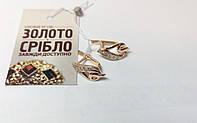 Серьги золотые 2.67 грамм, проба 585, б/у. Наложенным платежом.