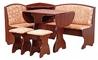 Кухонный уголок Виконт с раскладным столом и табуретами. Честная цена!