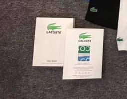 Коробка подарочная Lacoste (Для 3 штук)