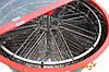 8-ми рамочная нержавеющая «ЕВРО» Медогонка, автоматическая полуповоротная под рамку «Дадан» (ротор Н/Ж, с крыш, фото 3