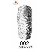 Гель-лак F.O.X 6 мл Brilliance №002
