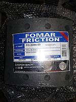 Накладки тормозные саф 19283 с заклепками накладки SAF 420*178 Fi420 19284