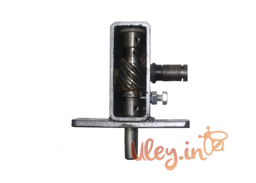 Редуктор Металлический на медогонку для ручного привода, одностороннего вращения MS