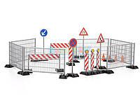 Аксессуары для дорожных работ BRUDER 62007 bWorld игрушка