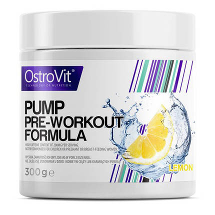 Передтренувальний комплекс Pump Pre-Workout Formula OstroVit, фото 2