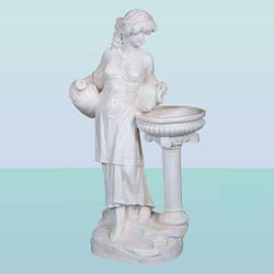 Декоративный фонтан скульптура для дома и сада Нереида