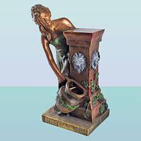 Декоративный садовый фонтан водопад для дома и сада Афина