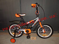 Детский двухколесный велосипед стич А 18 дюймов