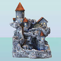 Декоративный напольный, настольный, садовый фонтан Замок