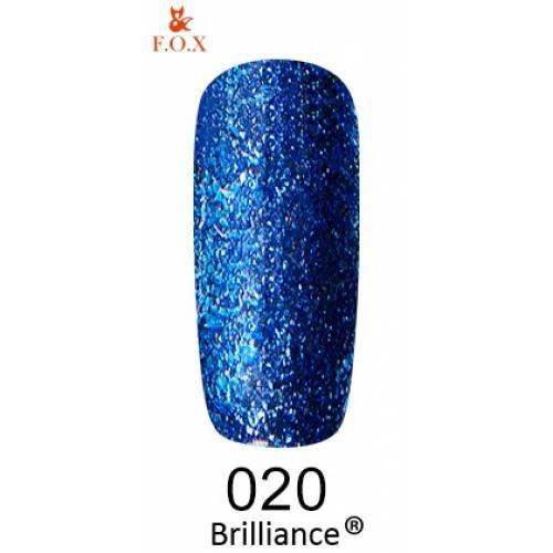 Гель-лак F.O.X 6 мл Brilliance №020