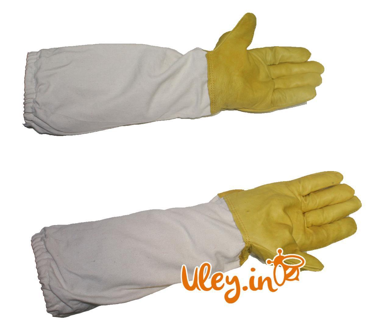Перчатки КОЖАНЫЕ Большой размер XXL с нарукавниками (Польша)