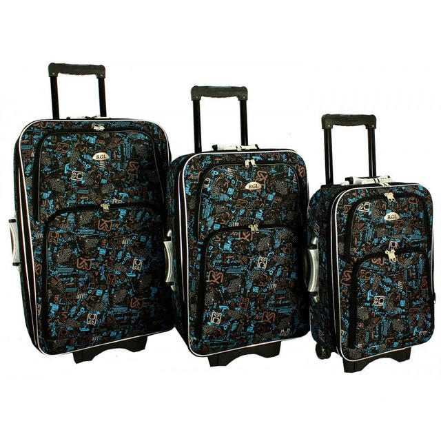 Дорожный чемодан сумка 773 набор 3 штуки mozaika