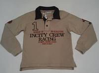 Реглан-поло для мальчика Crew Racing