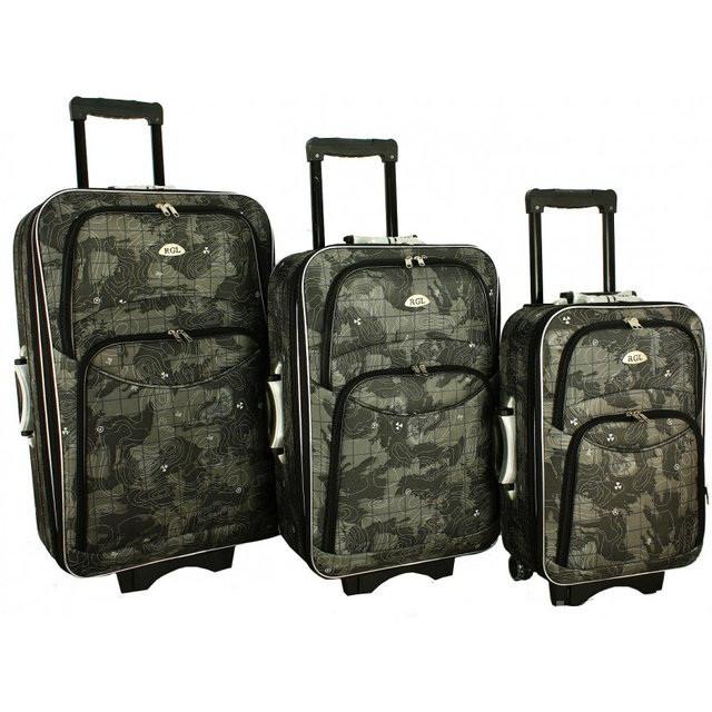 Дорожный чемодан сумка 773 набор 3 штуки mapa