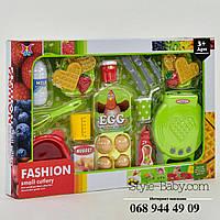 Игровой набор Вафельница с продуктами