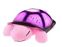 Ночник звездная Черепаха (Розовая)