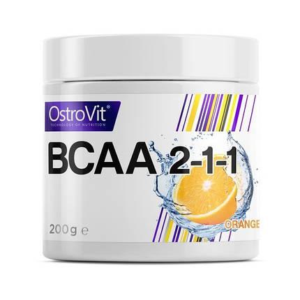Амінокислоти Extra Pure BCAA 2:1:1 Ostrovit 200 грам, фото 2